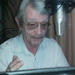 David London, student of John Burr, performing voice over image